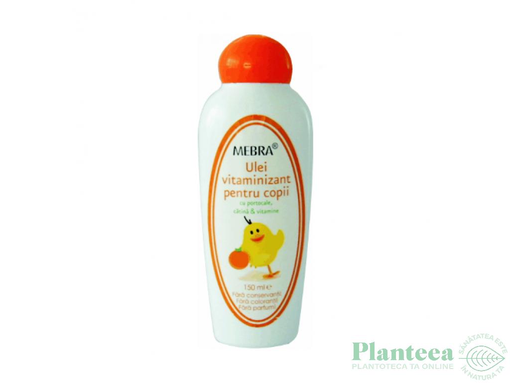 Ulei corp vitaminizant copii 150ml - MEBRA