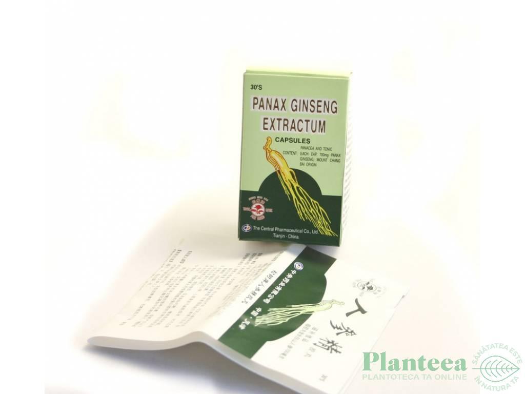 Panax ginseng 30cps - PINE BRAND