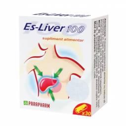 Pachet Es liver {1+1} 30cps - PARAPHARM