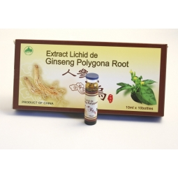 Ginseng polygona root 10fl - PINE BRAND