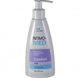 Gel ulei igiena intima menopauza senzatie uscaciune Comfort IntimoMed 200ml - ELFA PHARM