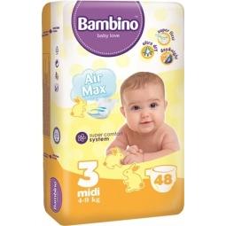 Scutece super comfort nr3 midi {4~9kg} 48b - BAMBINO