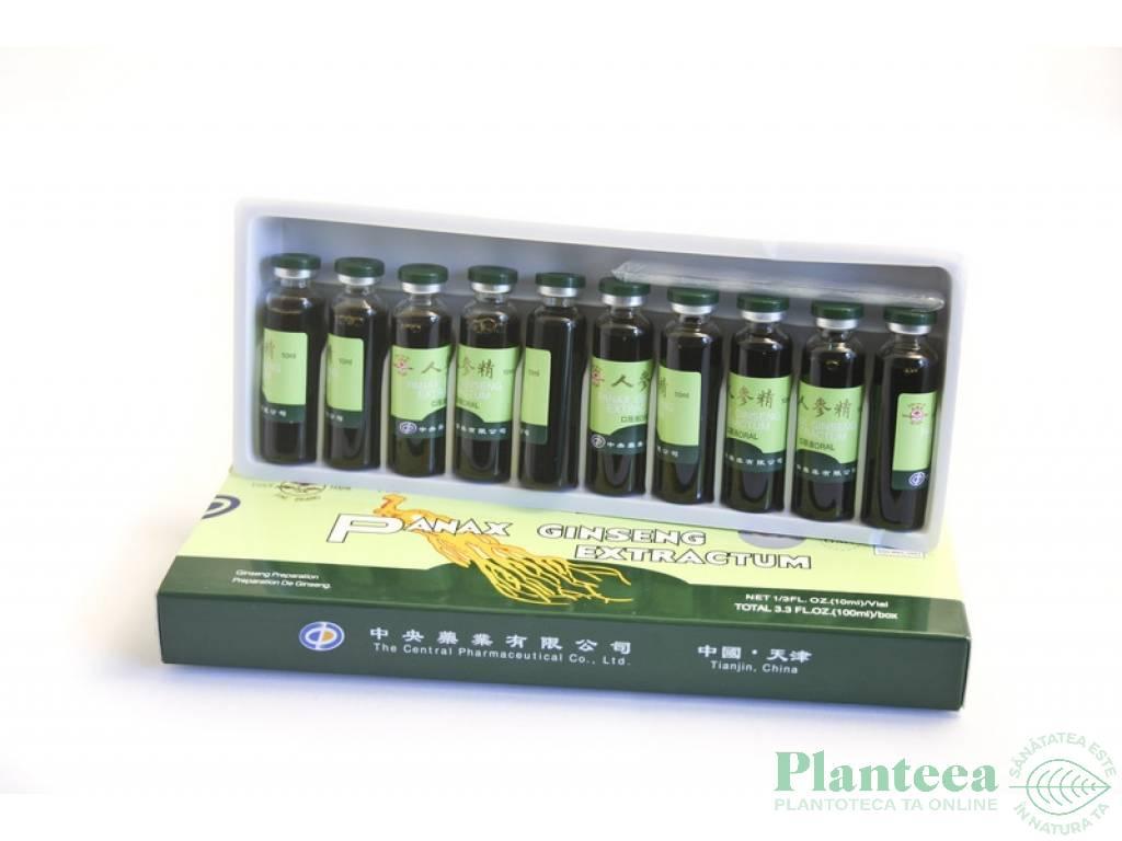 Panax ginseng 10fl - PINE BRAND