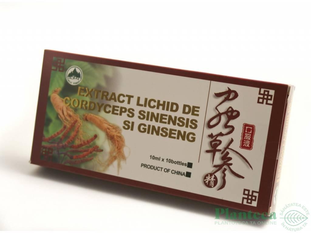 Cordyceps sinensis ginseng 10fl - PINE BRAND