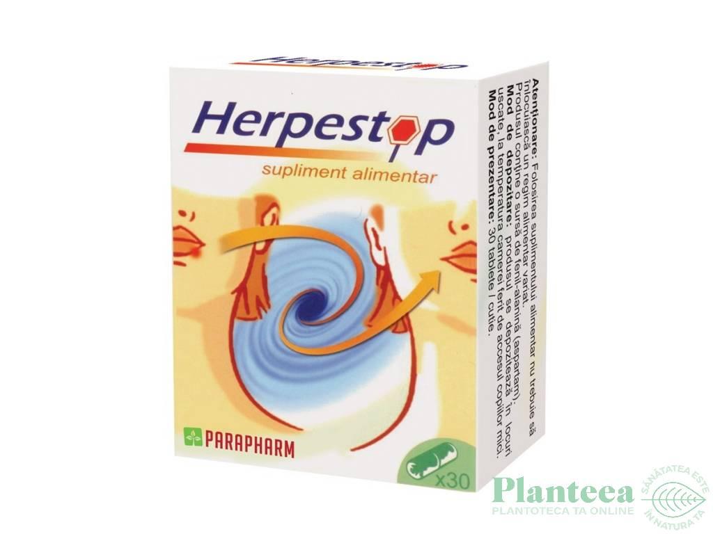 Pachet Herpestop {1+1} 30cps - PARAPHARM