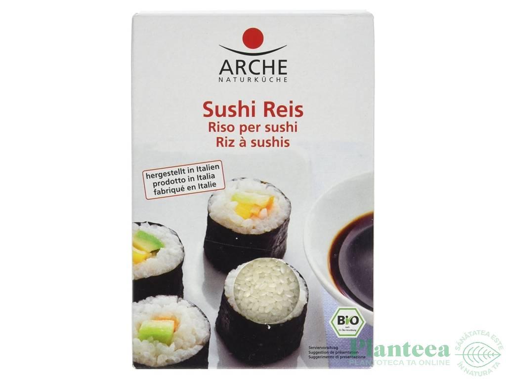 Orez bob rotund alb pt sushi 500g - ARCHE NATURKUCHE