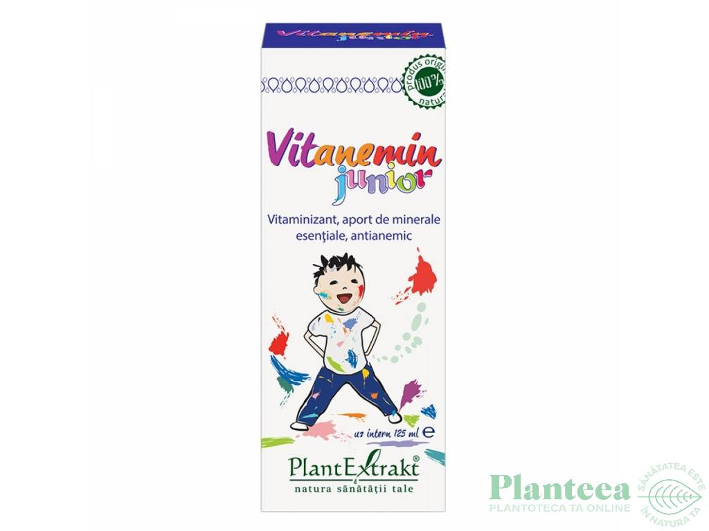 Sirop Vitanemin junior 125ml - PLANTEXTRAKT