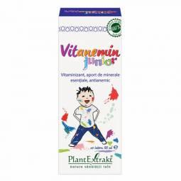 Sirop Vitanemin junior 125ml - PLANTEXTRAKT
