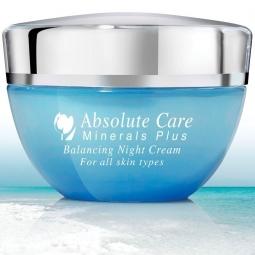 Crema noapte echilibranta minerale Marea Moarta 50ml - ABSOLUTE CARE