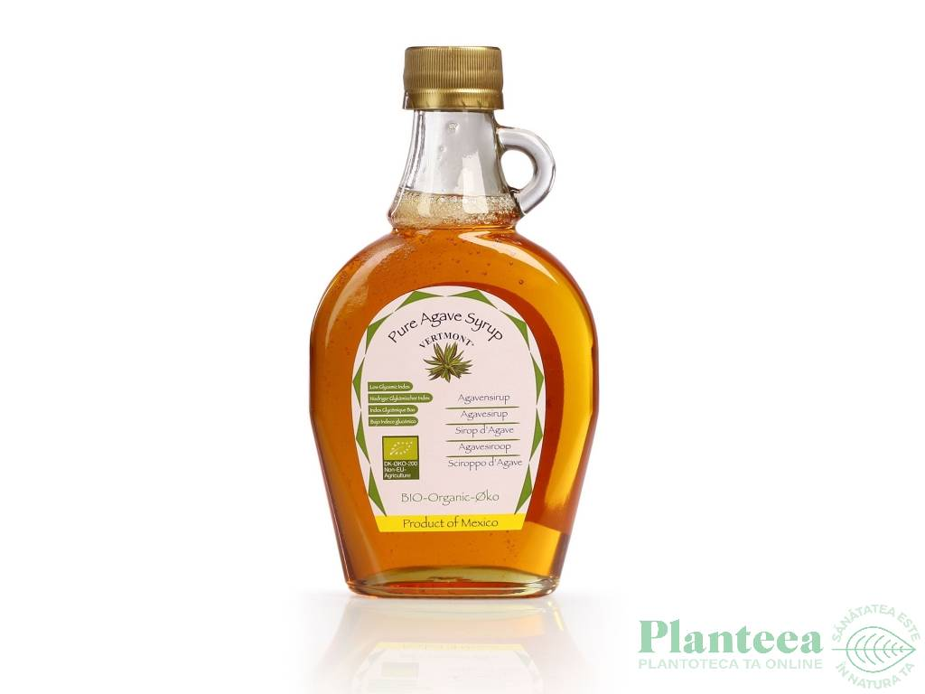 Sirop agave pur bio 320g - VERTMONT