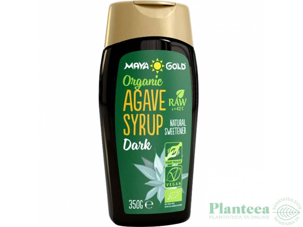 Sirop agave brun raw bio 350g - MAYA GOLD