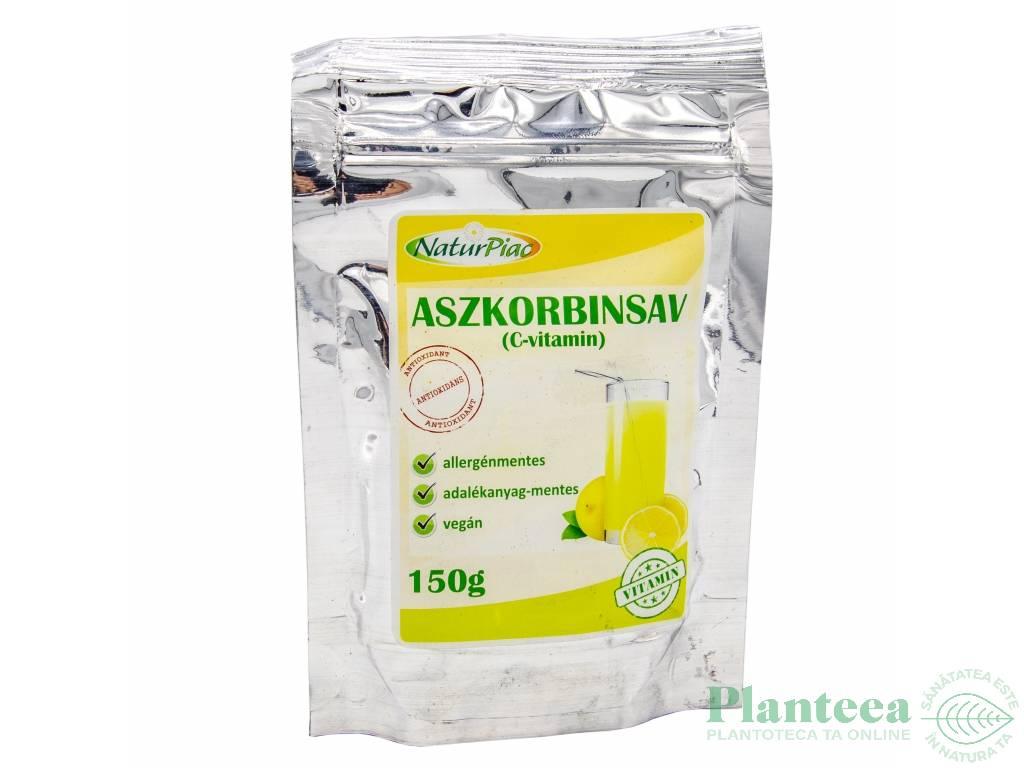 Acid ascorbic pulbere 150g - NATURPIAC
