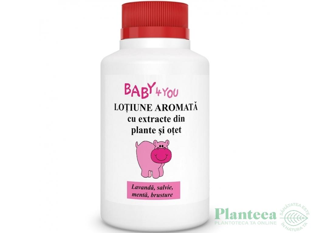 Lotiune aromata plante otet copii 100ml - TIS