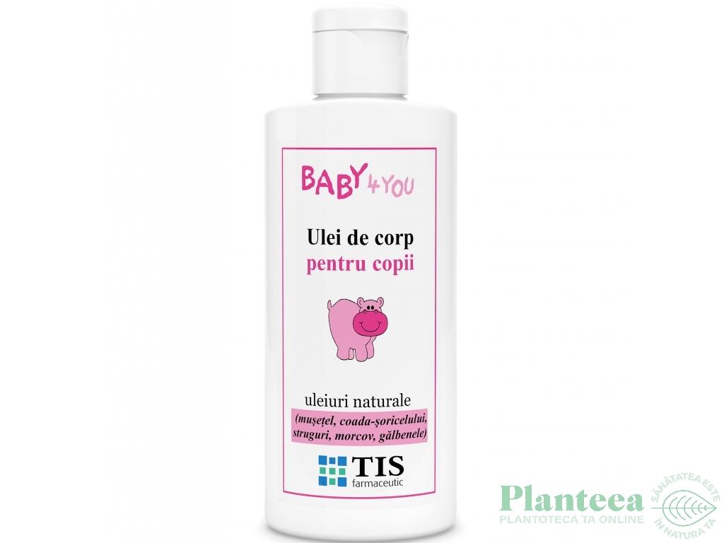 Ulei corp copii uleiuri naturale 100ml - TIS