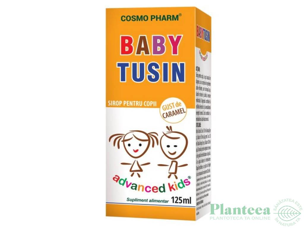Sirop Baby Tusin copii 125ml - COSMO PHARM