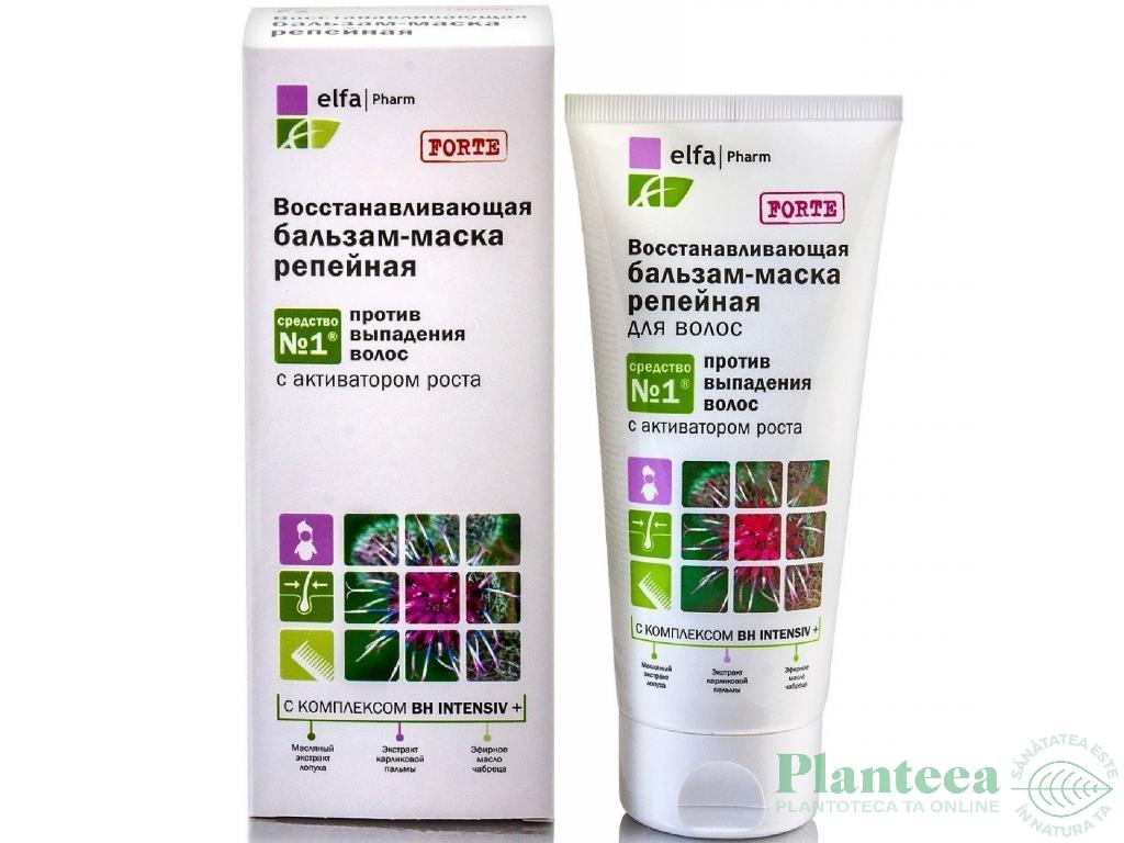 Balsam masca par deteriorat regenerare intensa Brusture Forte 200ml - ELFA PHARM