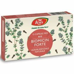 Capsule biomicin forte [antibiotic natural] 15cps - FARES