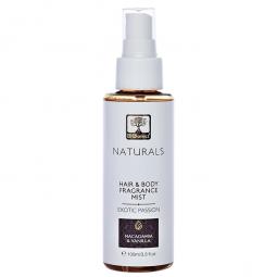 Parfum hidratant par corp exotic passion macadamia vanilie 100ml - BIOSELECT NATURALS
