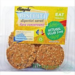 Biscuiti digestivi sarati 120g - SIMPLU