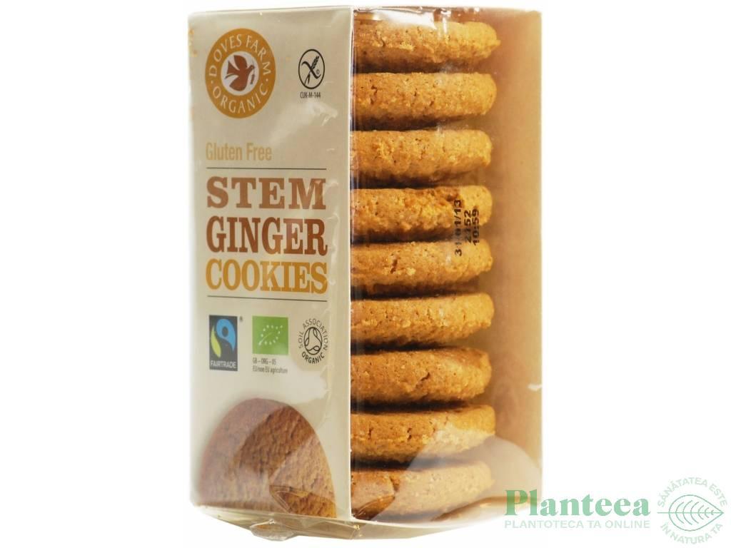 Biscuiti crocanti ghimbir fara gluten 150g - DOVES FARM