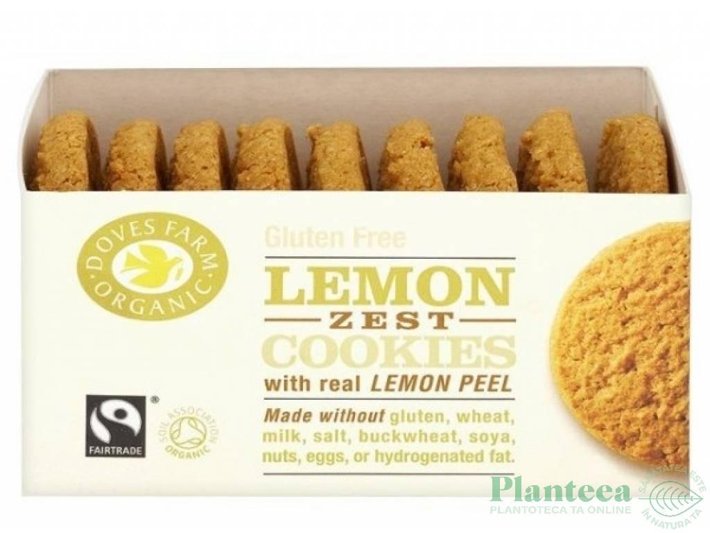 Biscuiti lamaie fara gluten 150g - DOVES FARM