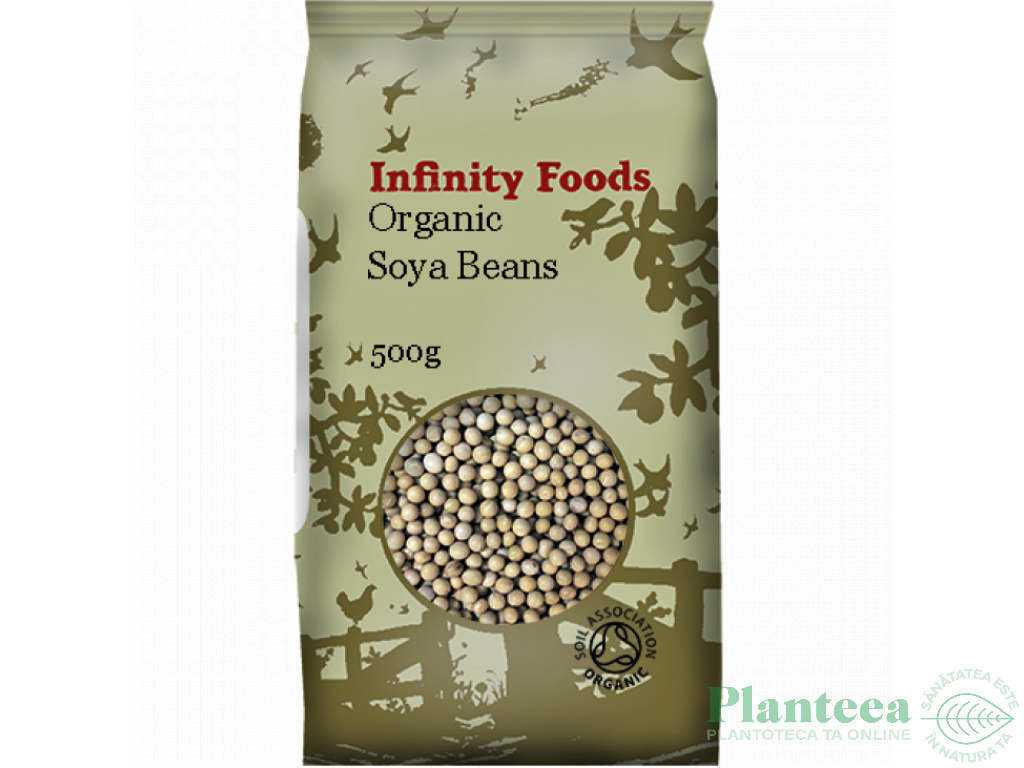 Soia boabe 500g - INFINITY FOODS