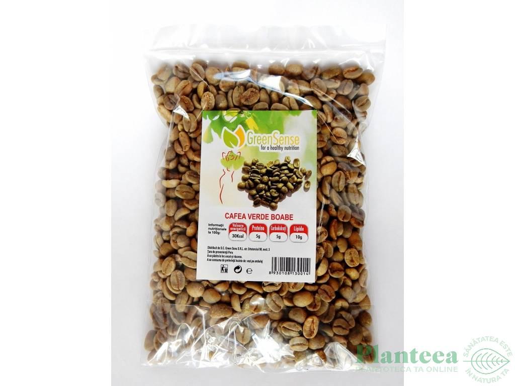 Cafea verde boabe 200g - GREEN SENSE