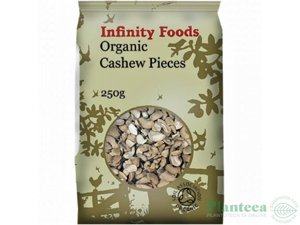 Caju crud bucati 250g - INFINITY FOODS