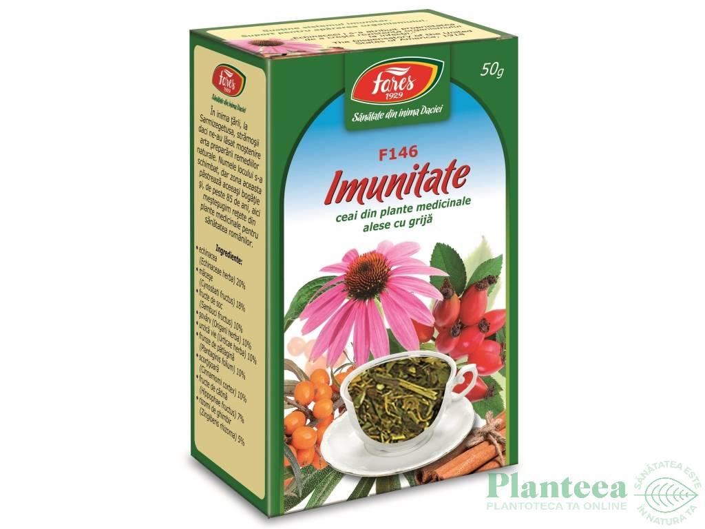 Ceai imunitate 50g - FARES