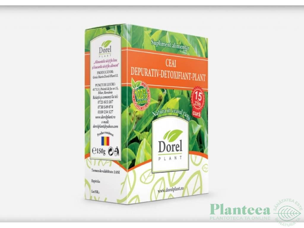 ceai depurativ detoxifiant