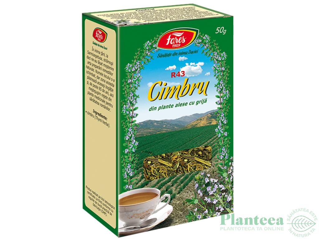ceai de cimbru cu miere si lamaie