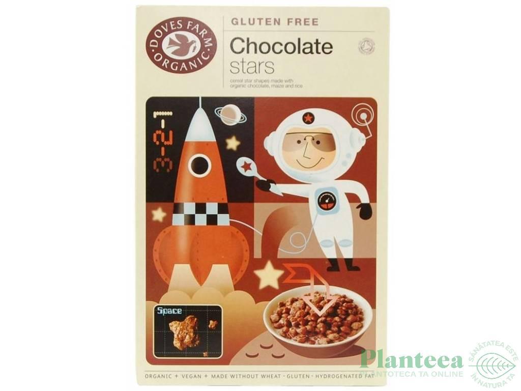Stelute cereale fara gluten ciocolata 300g - DOVES FARM
