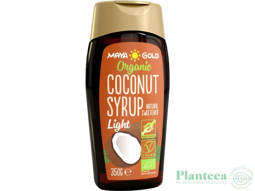 Sirop cocos light bio 350g - MAYA GOLD