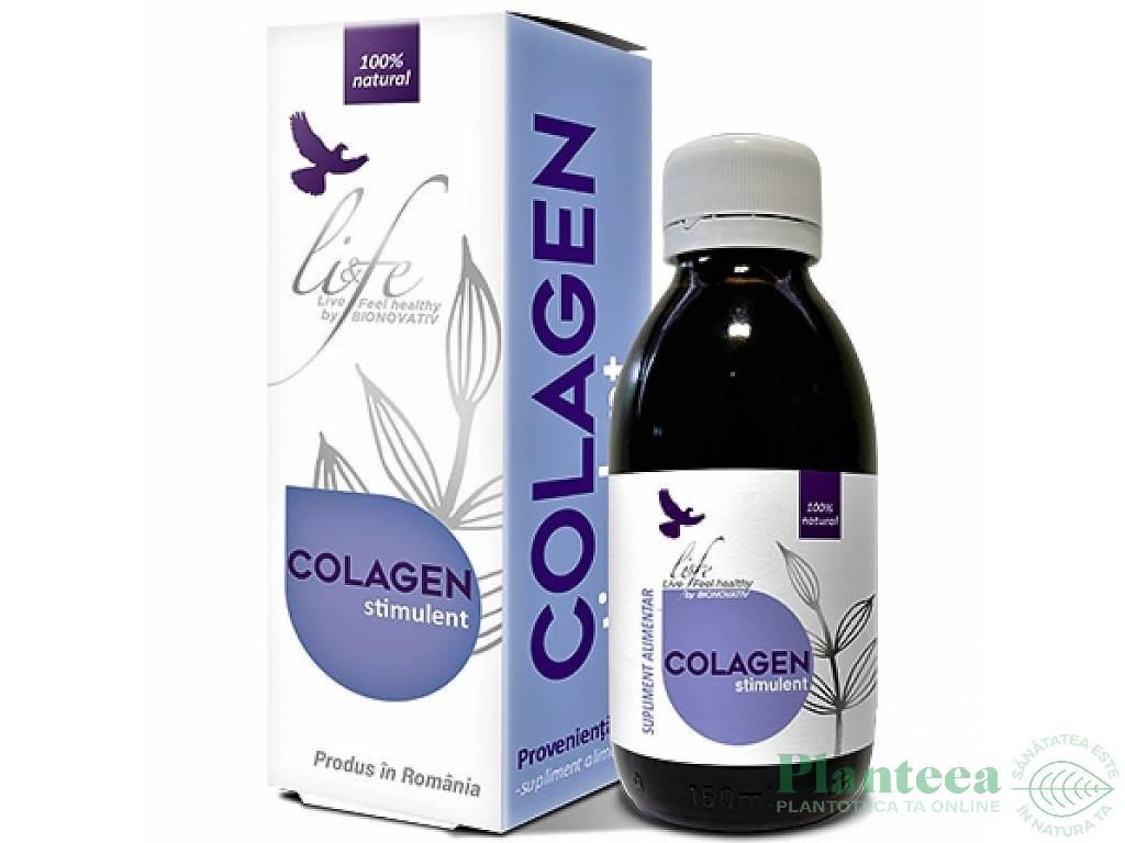 Tinctura stimulent colagen 150ml - LIFE