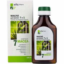 Complex par 7in1 imp caderii scalp sensibil arginina proteine 7uleiuri 100ml - ELFA PHARM