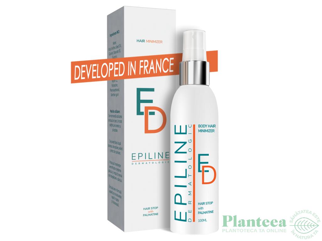 Spray lotiune epilare definitiva Epiline Dermatologic 100ml - LABORATOARELE SEDERMA