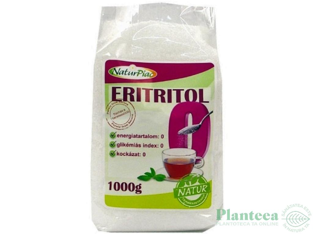 Eritritol indulcitor cristalizat 1kg - NATURPIAC