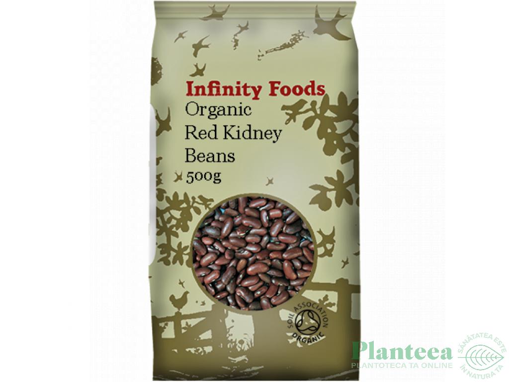 Fasole rosie kidney 500g - INFINITY FOODS