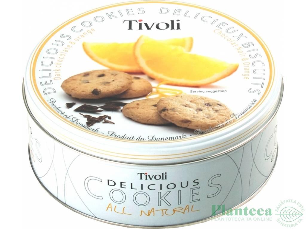 Fursecuri ciocolata portocale 150g - TIVOLI