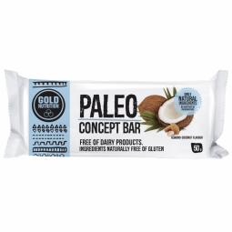 Baton concept Paleo migdale cocos 50g - GOLD NUTRITION