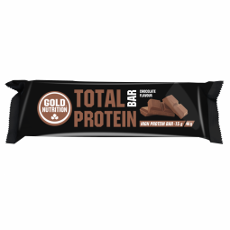Baton proteic Total ciocolata 46g - GOLD NUTRITION