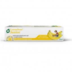 Pasta dinti junior banane 80ml - VIVA NATURA