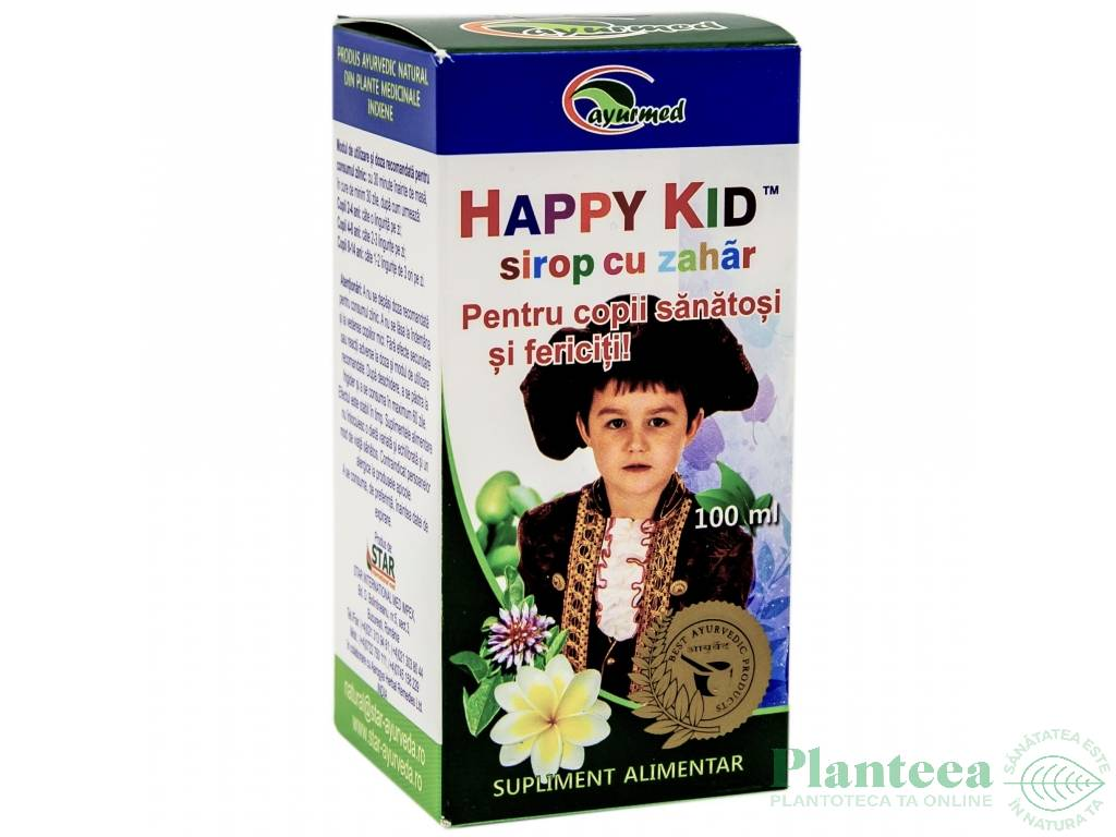 Sirop Happy kid 100ml - AYURMED