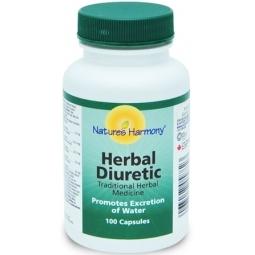 Herbal Diuretic 100cp - NATURES HARMONY