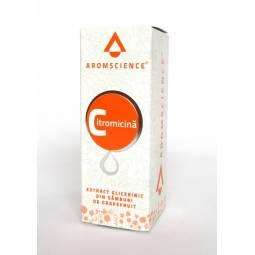 Extract glicerinic samburi grepfrut Citromicina 10ml - AROM SCIENCE
