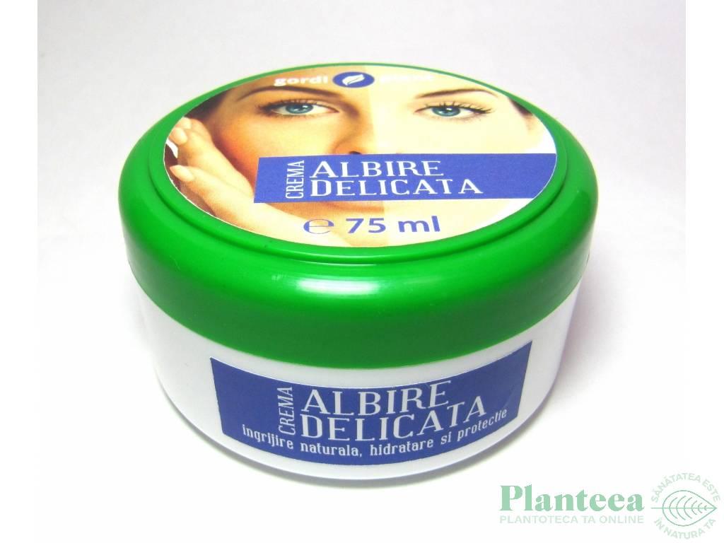 Crema albire delicata 75ml - GORDI PLANT