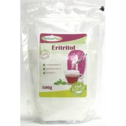 Eritritol indulcitor cristalizat 500g - NATURPIAC