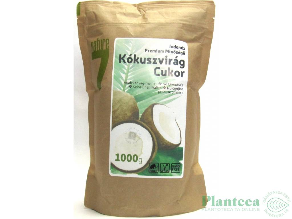 Zahar flori cocos 1kg - NATURPIAC