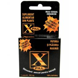 X pill stimulent sexual barbati 1cps - SICHUAN WEILONG PHARMA