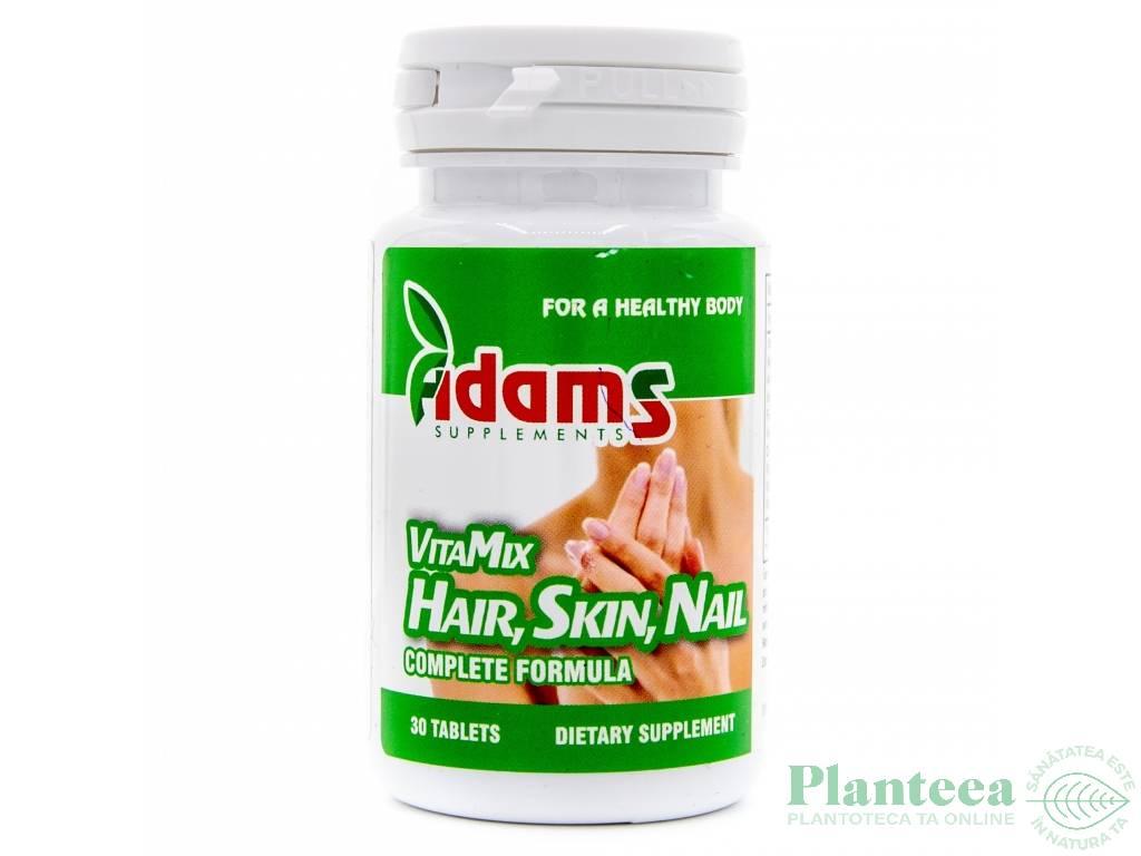 Formula par piele unghii VitaMix 30cp - ADAMS